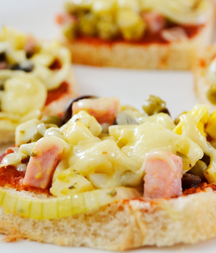 Lanche A La Pizza