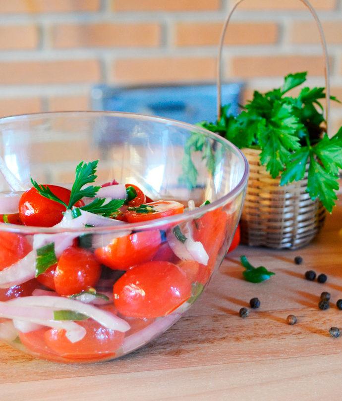 Salada Tomate Cereja