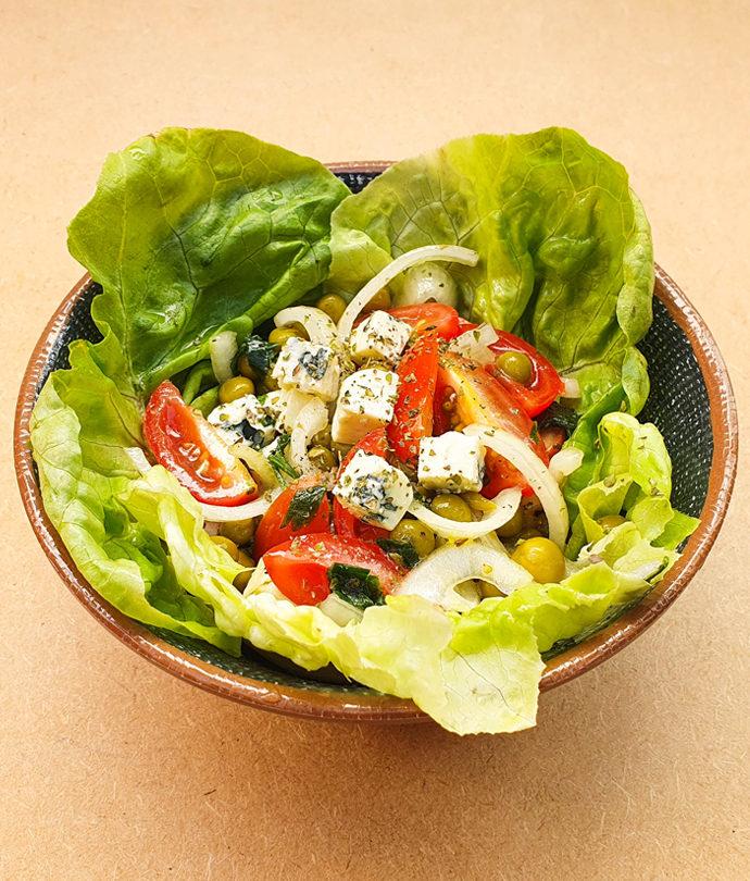 Salada com Gorgonzola