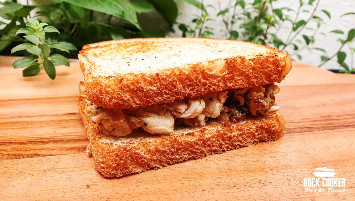 Sanduíche de Frango com Gorgonzola
